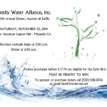 "Family Water Alliance Annual ""Hot Cajun Night"" Dinner"