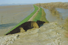 1997 Sutter Bypass catastrophic levee failure.