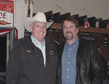Jeerry Maltby, former Colusa County Supervisor and FWA's auctioneer, with Assemblyman Doug LaMalfa.