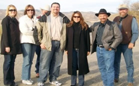 Pictured l to r: Ashley Indrieri, FWA; Kim Davis, Senator Aanestad's; Ed Owners, rancher; Tom Indrieri, Colusa Co. Supervisor; Assemblywoman Ma; Lawrence Martin, ranchers; and Gary Evans, Colusa Co. Supervisor.