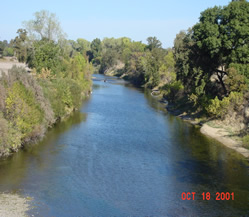 A riparian right exists on the smallest piece of land that touches a water source.